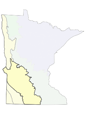 ECS Subsection map