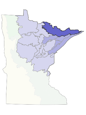 ecs border lakes subsection minnesota dnr mn department of